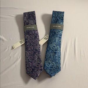 Paisley Michael Kors Tie Set
